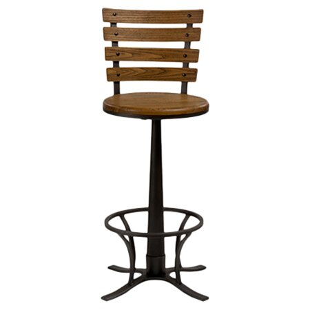 Walborn 30 Swivel Bar Stool by Gracie Oaks