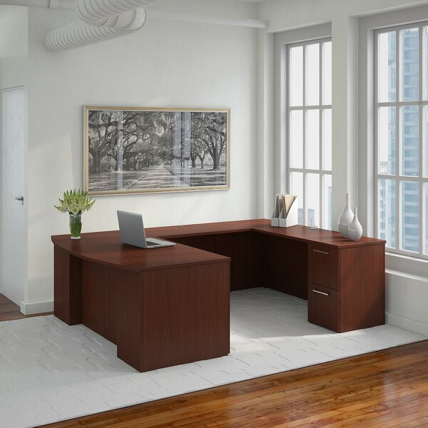 300 Series U-Shaped Executive Desk by Bush Business Furniture