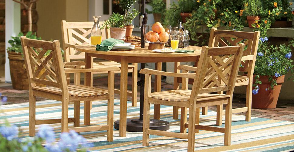 Oiling Teak Furniture Important Teak Care Tips Wayfair