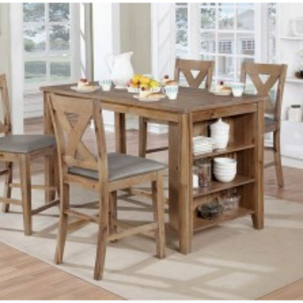Dugas 5 Piece Pub Table Set by Gracie Oaks