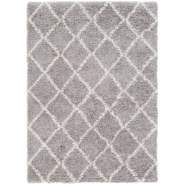 Gloversville Gray / Ivory Area Rug by Ivy Bronx