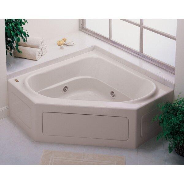 Capella 55 x 55 Skirted Whirlpool Bathtub by Jacuzzi®