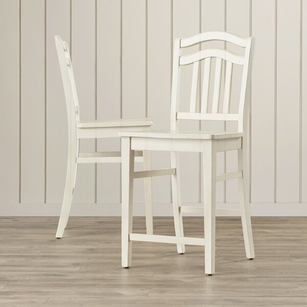 Silver Springs 24 Bar Stool (Set of 2) by Beachcrest Home