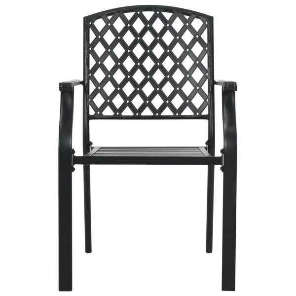 Pecos Stacking Patio Dining Chair by Winston Porter Winston Porter