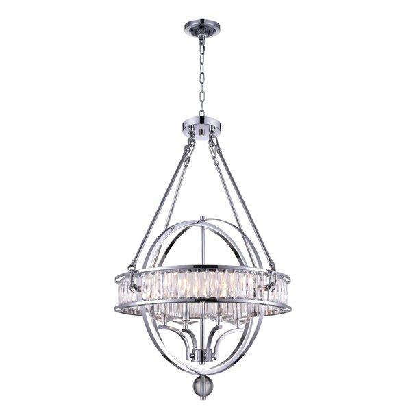Hartmann 4-Light Candle Style Globe Chandelier By Gracie Oaks