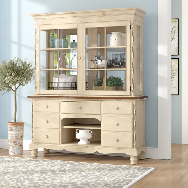 Halton Lighted China Cabinet by One Allium Way
