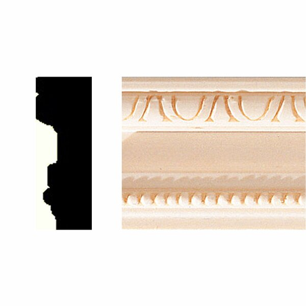 3/4 in. x 2 in. x 8 ft. Hardwood Casing/Chair Rail Moulding by Manor House