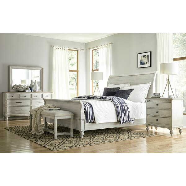 Ryleigh Sleigh Configurable Bedroom Set by One Allium Way