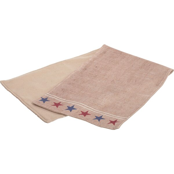 Americana Fabric Table Runner by Transpac