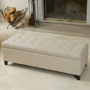 Foosland Tufted Upholstered Storage Ottoman by Darby Home Co