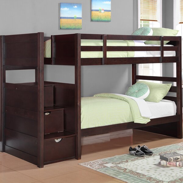 Ryan Twin Over Twin Bunk Bed with Drawers by Wildon Home®