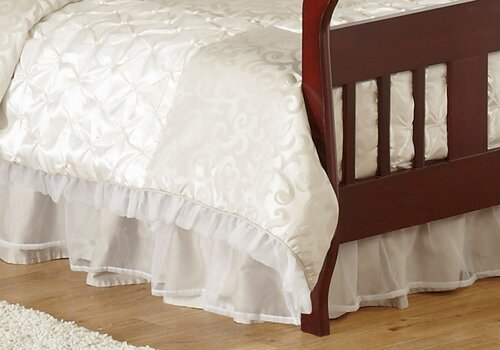 Victoria Toddler Bed Skirt by Sweet Jojo Designs