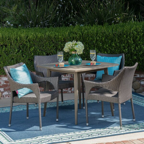 Winchell 5 Piece Dining Set by Wrought Studio