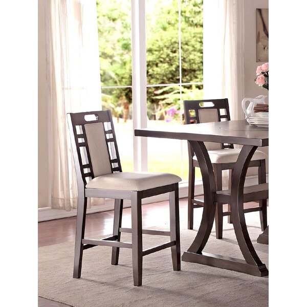 Nika Counter Height Dining Chair (Set of 2) by Winston Porter