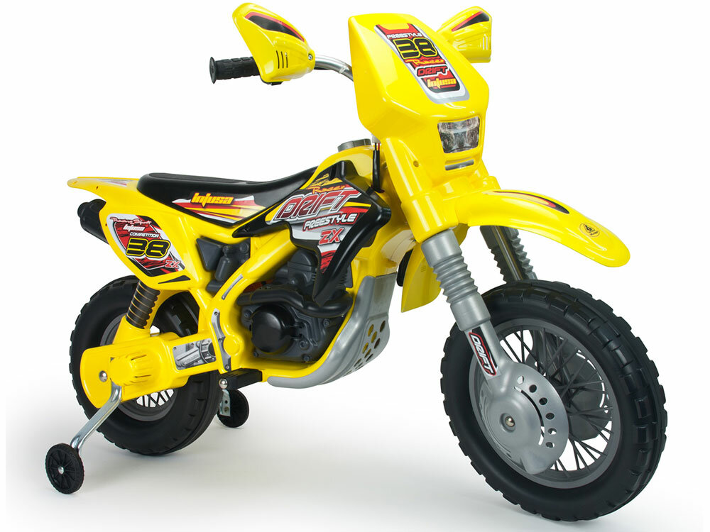 Big Toys Motocross Thunder Max VX 12V Battery Powered Motorcycle ...