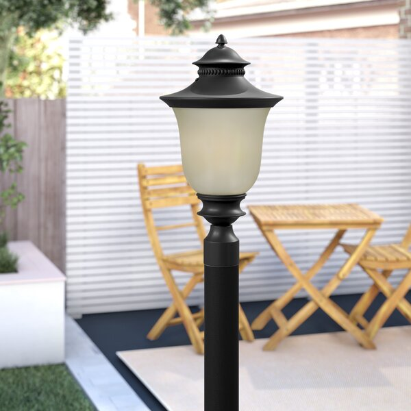 Rockmill Aluminum 1-Light Lantern Head by Three Posts