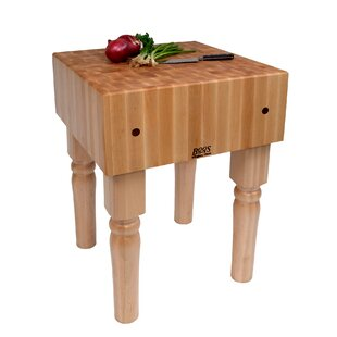 Superbe BoosBlock Butcher Block Prep Table