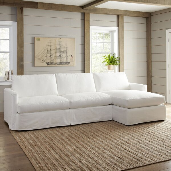 Leisure 121-inch Sectional By Wayfair Custom Upholstery™