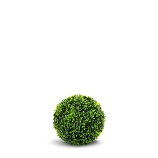 Artificial Boxwood Ball Round Topiary by Charlton Home
