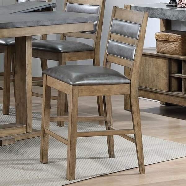 Whitson Designer Rubber Wood Bar Stool (Set of 2) by Millwood Pines