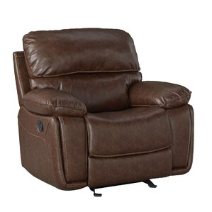 Menlo Manual Glider Recliner by Red Ba..
