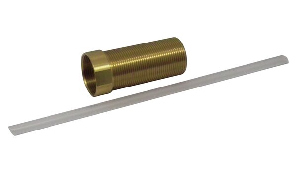 0.75 W x 2.5 H Brass Extension Adapter for Soap Dispenser by Kingston Brass