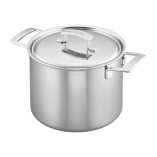 Industry 5-Ply 8-qt Stock Pot by Demeyere