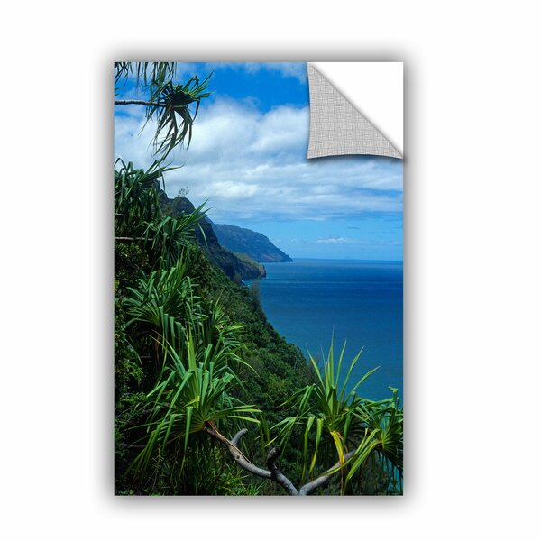 ArtApeelz Kalulua Trail Kauai by Kathy Yates Photographic Print on Canvas by ArtWall