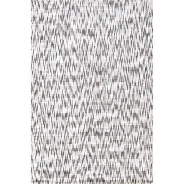 Ikat Grey/White Area Rug by Dash and Albert Rugs