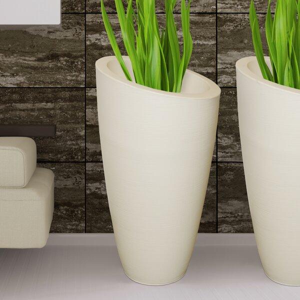 Modesto Plastic Pot Planter by Mayne Inc.