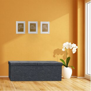 Check Prices Earl Storage Ottoman By Ebern Designs