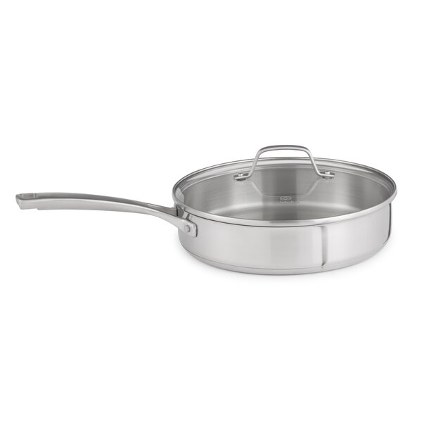 Stainless Steel 3-qt. Saute Pan by Calphalon