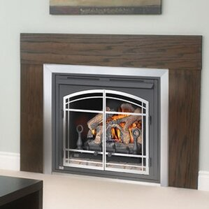 gas wall fireplaces. Zero Clearance Vent Free Wall Mounted Natural Gas Fireplace  Propane Fireplaces You ll Love Wayfair