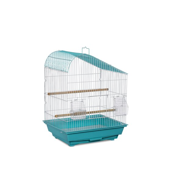 Zoe Tear Drop Roof Budgie Cage by Archie & Oscar
