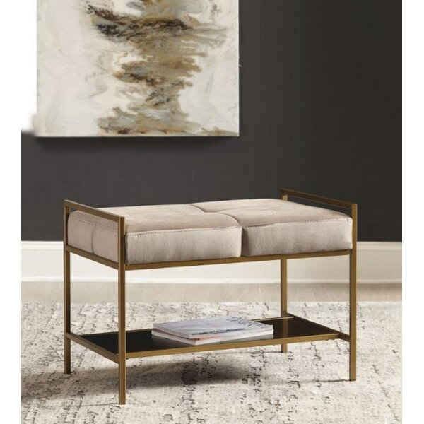 Patton Upholstered Storage Bench by Mercer41