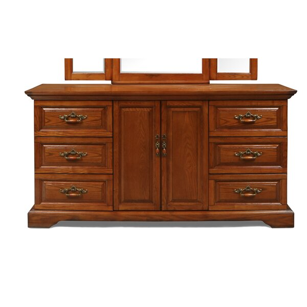 Geno 6 Drawer Combo Dresser by Darby Home Co