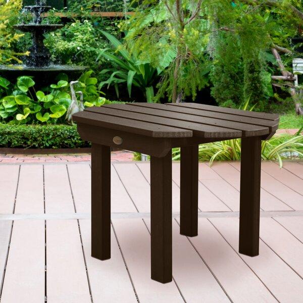 Wysocki Plastic Side Table by Breakwater Bay