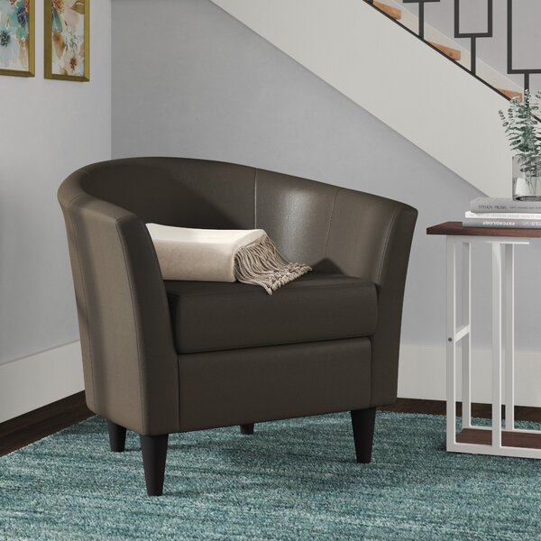 Review Gaynell Barrel Chair