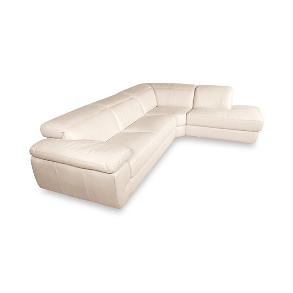 Padroni Leather 123 Right Hand Facing Sectional