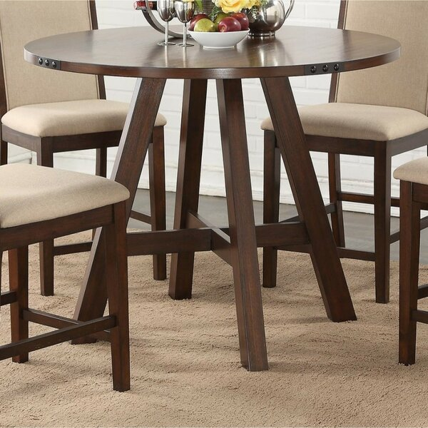 Miramare Wooden Pub Table by Gracie Oaks