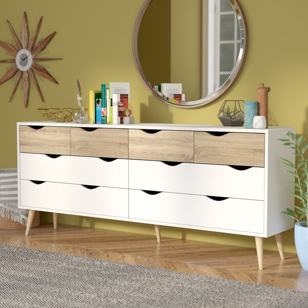 Mateer 8 Drawer Dresser by Langley Street