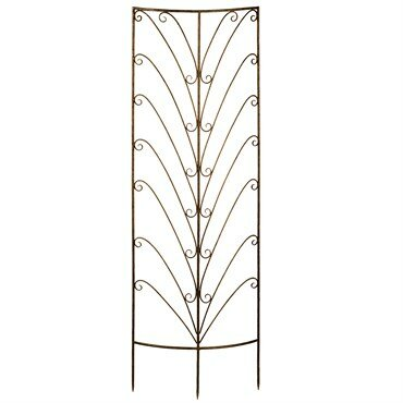 Deer Park Steel Gothic Trellis by Southern Patio®