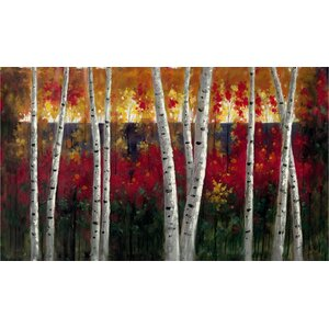 'Autumn' Painting Print on Canvas by Trademark Fine Art