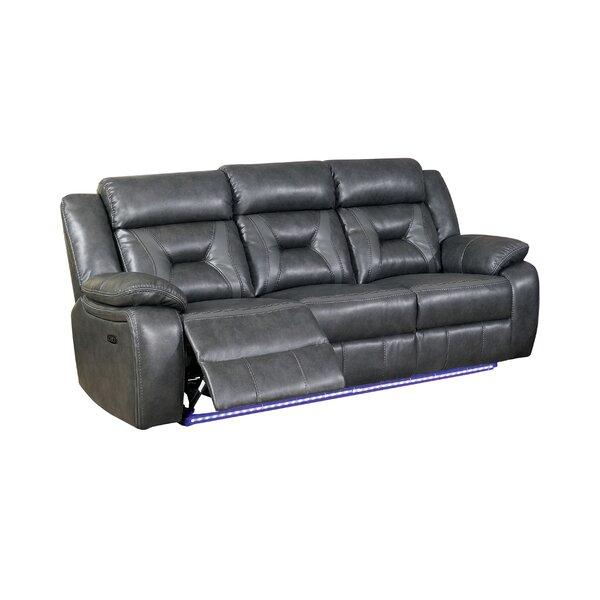 Review Eberle Reclining Pillow Top Arms Sofa