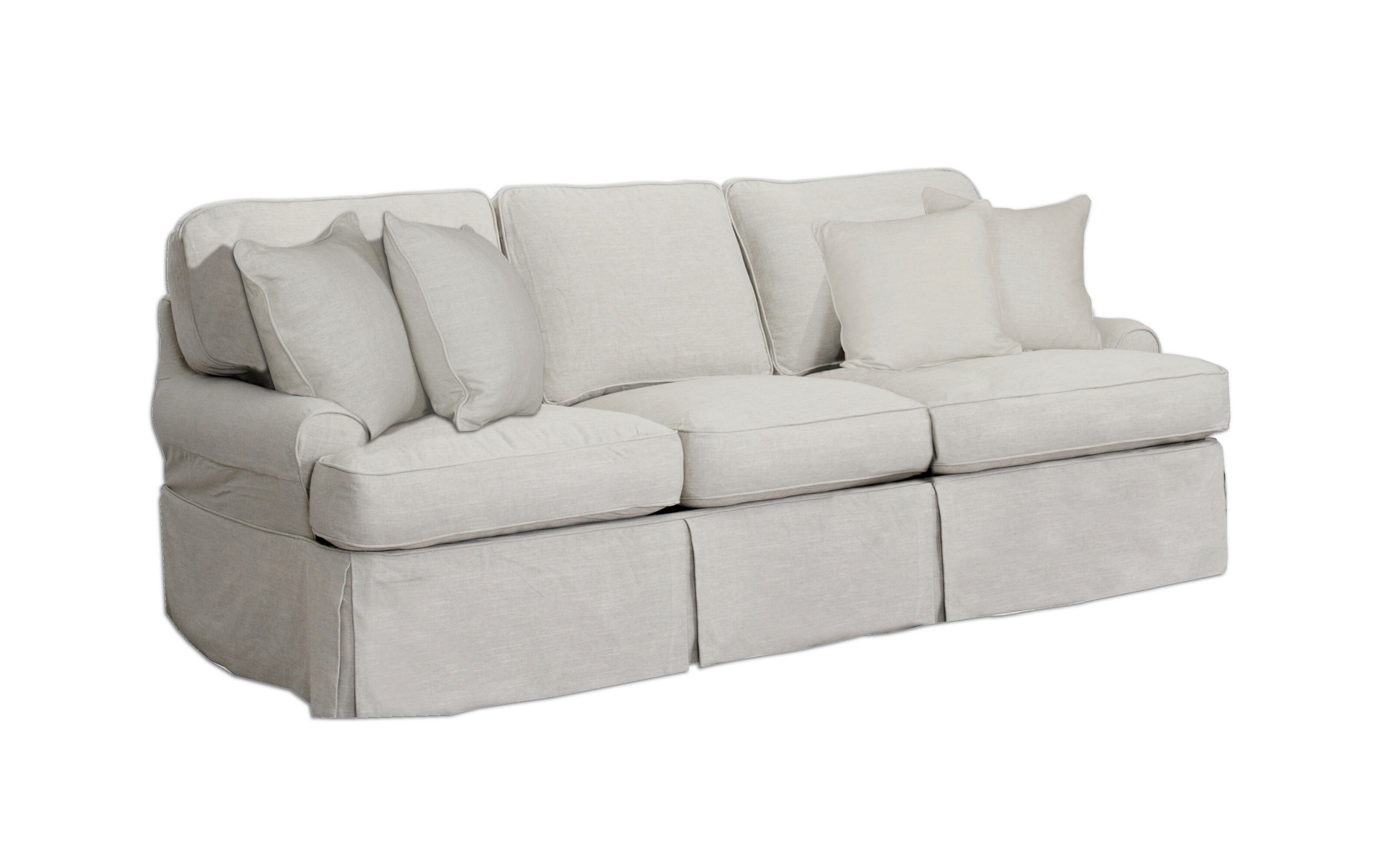 Callie T Cushion Sofa Slipcover