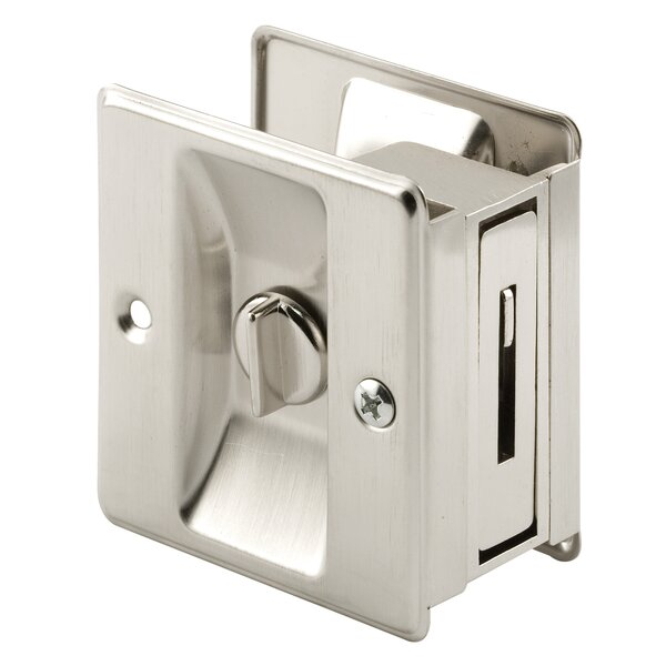 Pocket Door Privacy Lock and Pull by PrimeLine