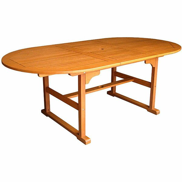 Sabbattus Oval Dining Table by Breakwater Bay