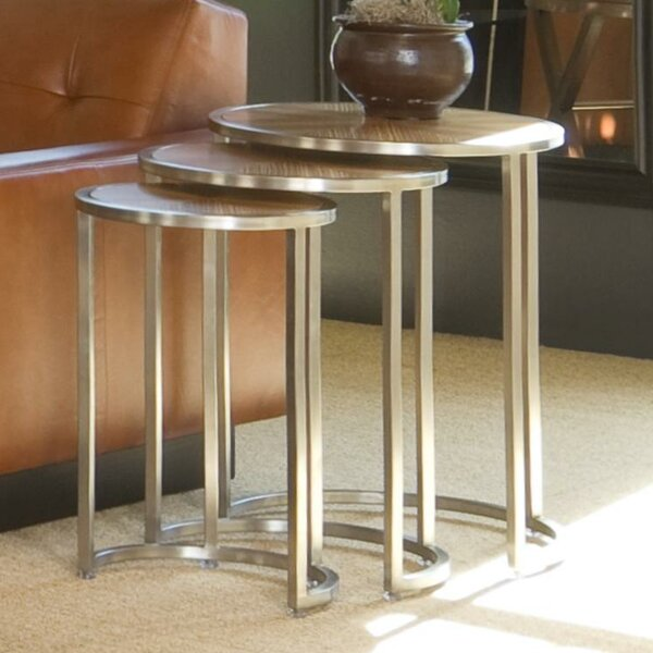 3 Piece Nesting Tables by Allan Copley Designs