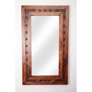Loon Peak Rectangle Wood Accent Mirror