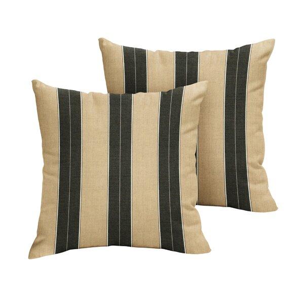 Edmon Indoor/Outdoor Throw Pillow (Set of 2)